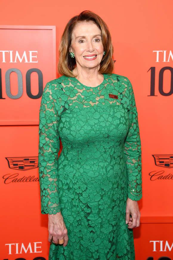 Nancy Pelosi at the TIME 100 Gala 2019