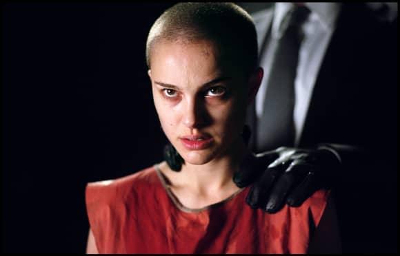 """Natalie Portman in """"V wie Vendetta"""""""