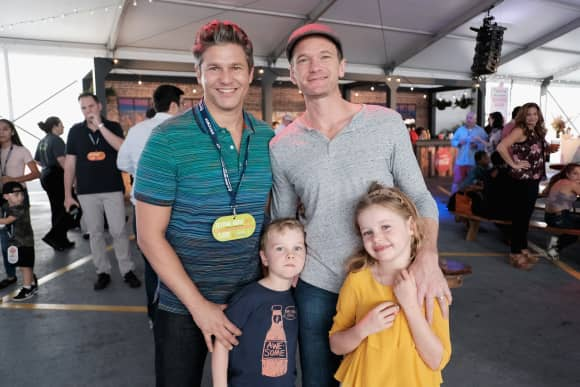 Neil Patrick Harris, David Burtka and their kids