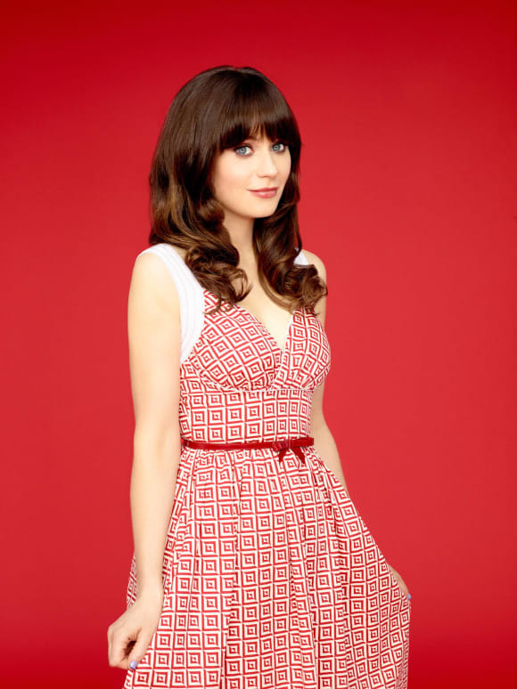 Zooey Deschanel Jessica Day, Zooey Deschanel New Girl, New Girl, Zooey Deschanel