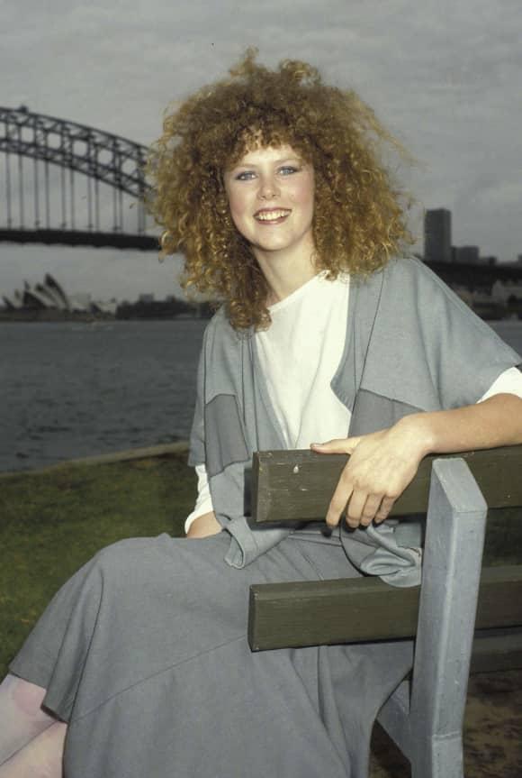 Nicole Kidman in Sydney back in 1983