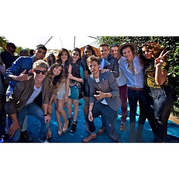 One Direction und Fifth Harmony