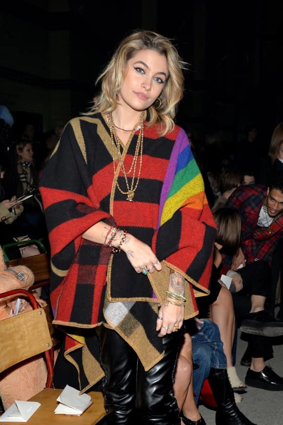 Michael Jacksons Tochter Paris Jackson auf der Fashion Week in London