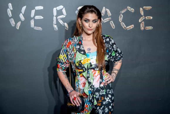 Paris Jackson bei einer Versace-Show im Dezember 2018