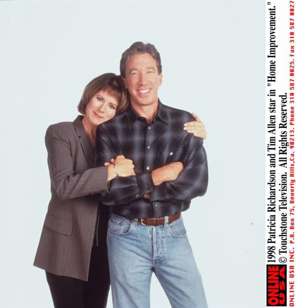 Patricia Richardson und Tim Allen
