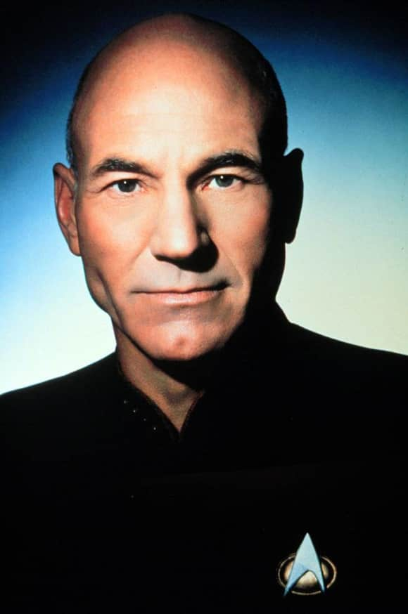 "Patrick Stewart played the iconic character of ""Captain Jean-Luc Picard"" on Star Trek: The Next Generation"