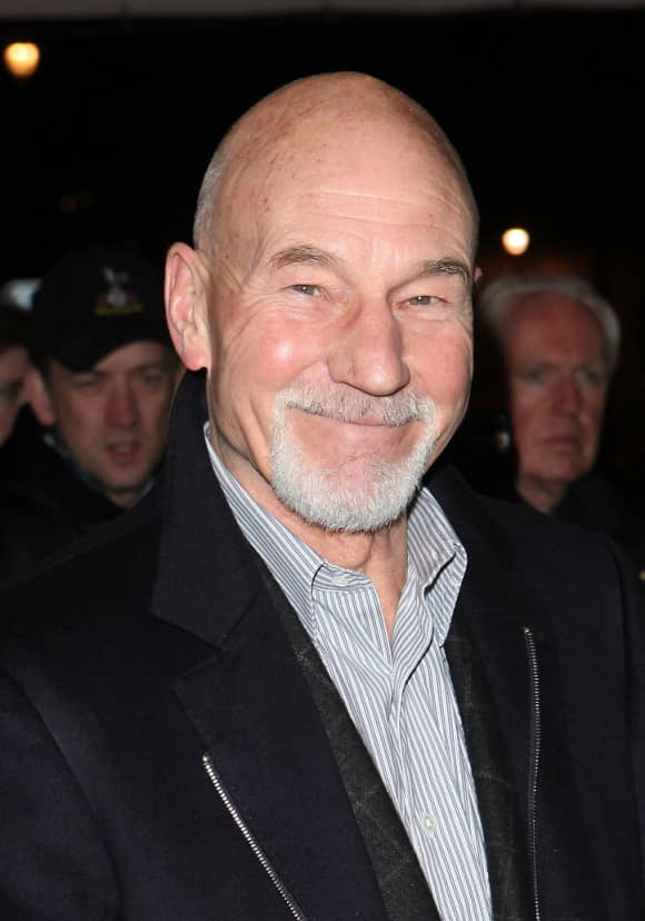 Sir Patrick Stewart Today