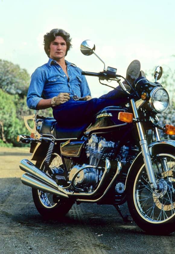 Patrick Swayze in 1979