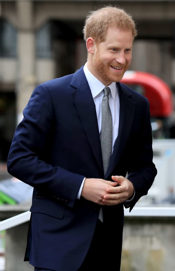 Prince Harry in March 2019