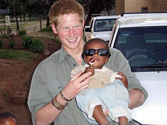 Prinz Harry Lesotho