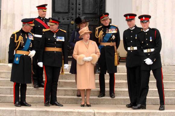 Prinz Harry Sandhurst