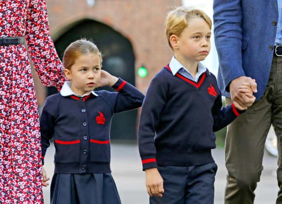 Prinz George und Prinzessin Charlotte am Schulbeginn 2019