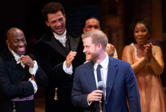 Prinz Harry singt