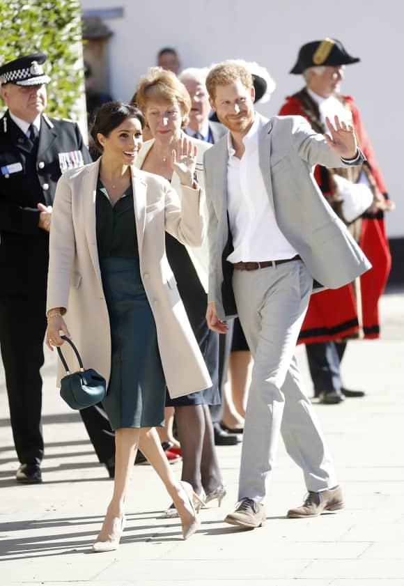 Prinz Harry und Herzogin Meghan besuchen ihr Herzogtum Sussex
