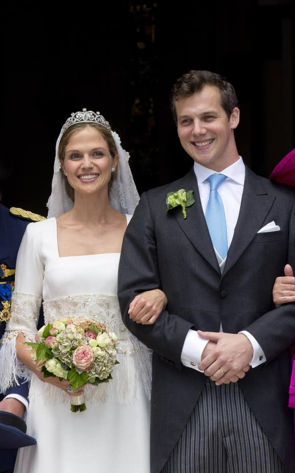Prinzessin Alix de Ligne und Guilaume de Dampierre