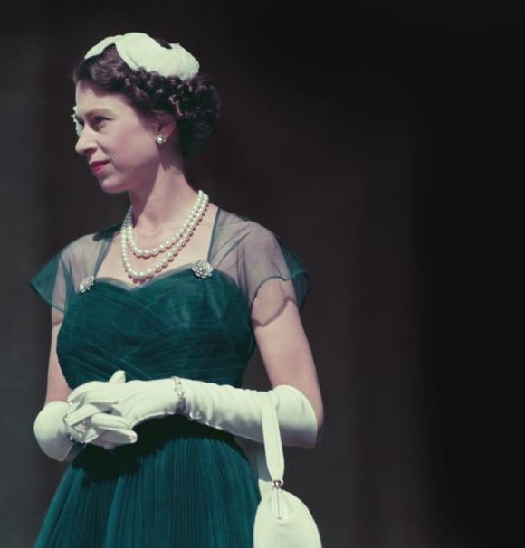 Queen Elizabeth II in Australia in 1954