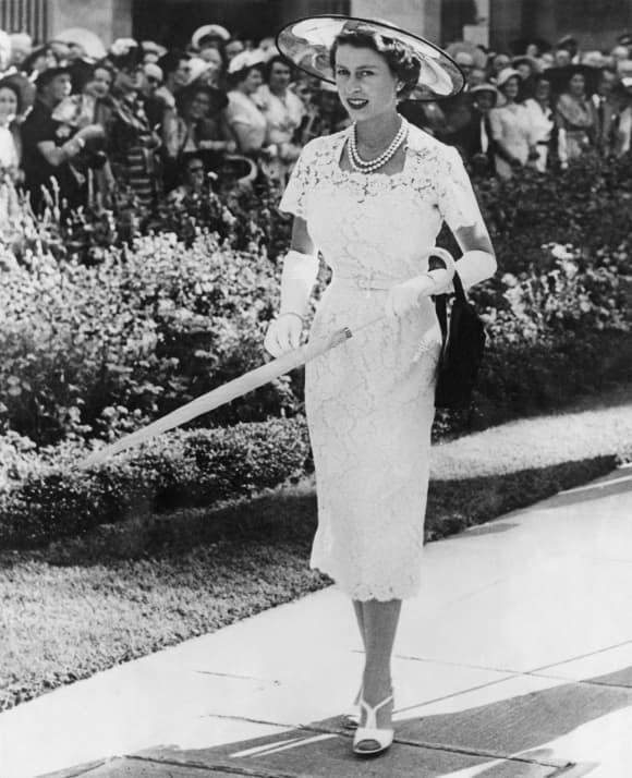 Queen Elizabeth II in 1954