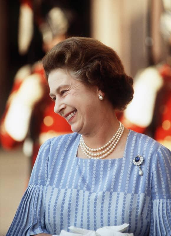 Queen Elizabeth II in India
