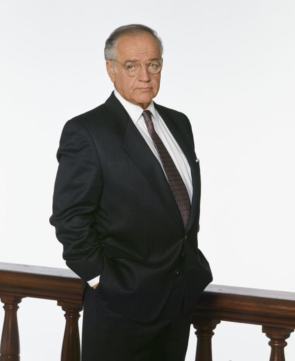 "Richard Dysart played the Senior Partner ""Leland McKenzie"" in L.A. Law"
