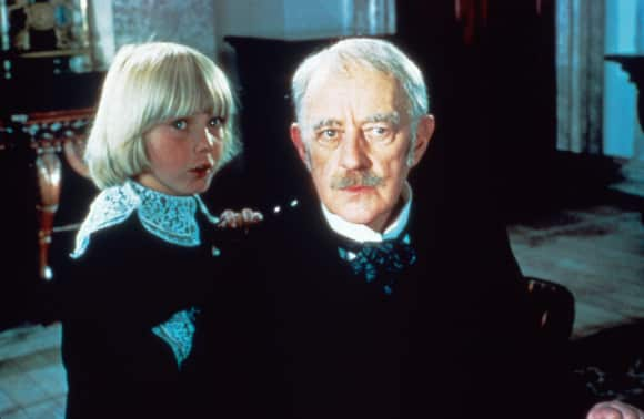 Ricky Schroder and Sir Alec Guinness in Little Lord Fauntleroy 1980