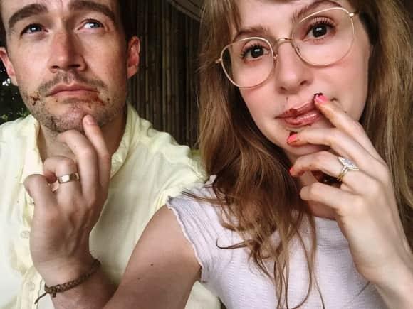 Robert Buckley und Jenny Wade haben geheiratet