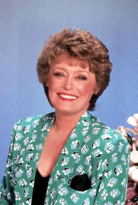"Rue McClanahan played the role of ""Blanche Devereaux"" on The Golden Girls"