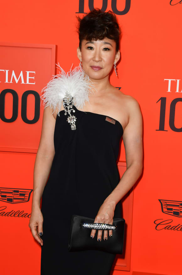 Sandra Oh at the TIME 100 Gala 2019