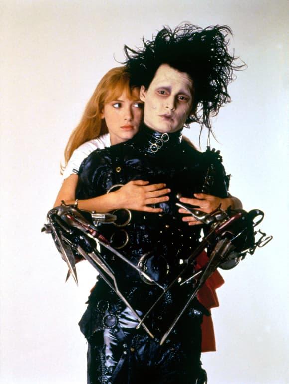 """Johnny Depp in """"Edward mit den Scherenhänden"""""""