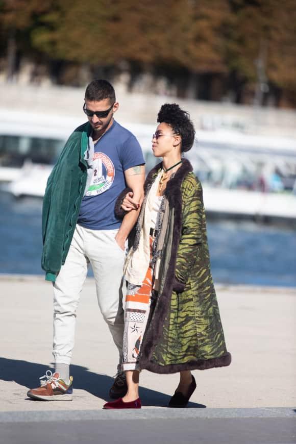 Shia LaBeouf und FKA Twigs zusammen