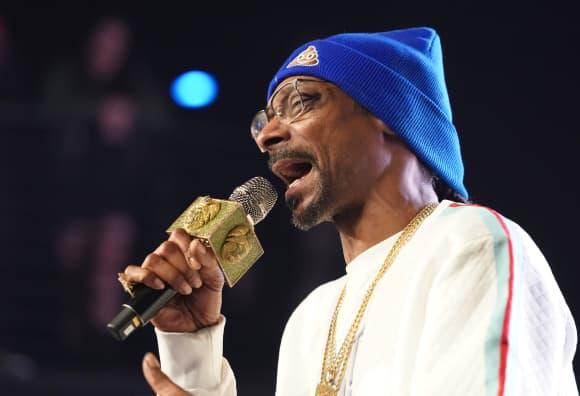 Snoop Dog bei einem Militärfestival in Kalifornien 2019