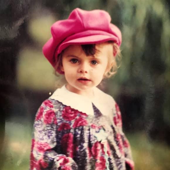 Sophia Thomalla als kleines Mädchen