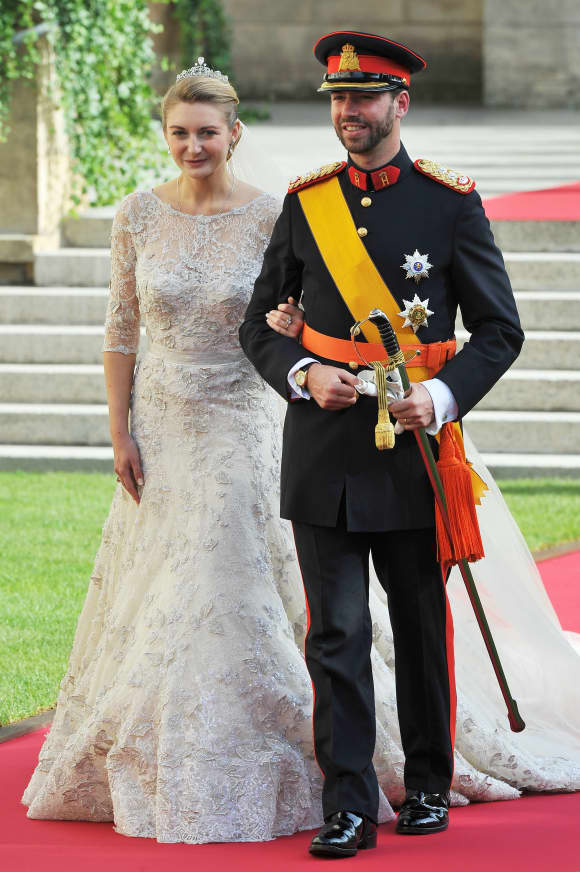 Princess Stephanie of Luxembourg and Prince Guillaume of Luxembourg