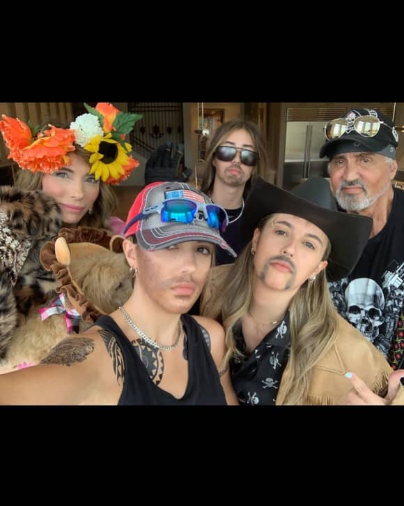 Sylvester Stallone Familie Joe Exotic Tiger King