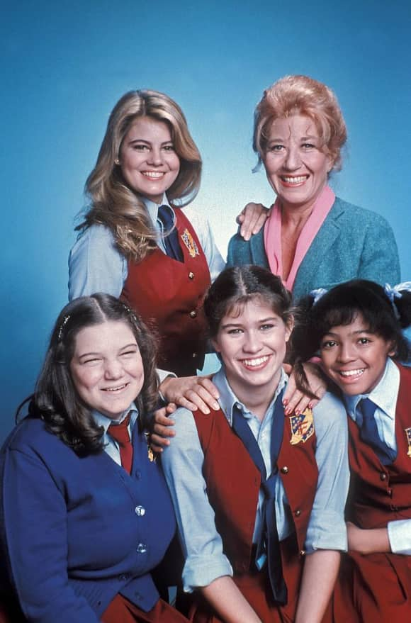 The cast of the popular show The Facts of Life