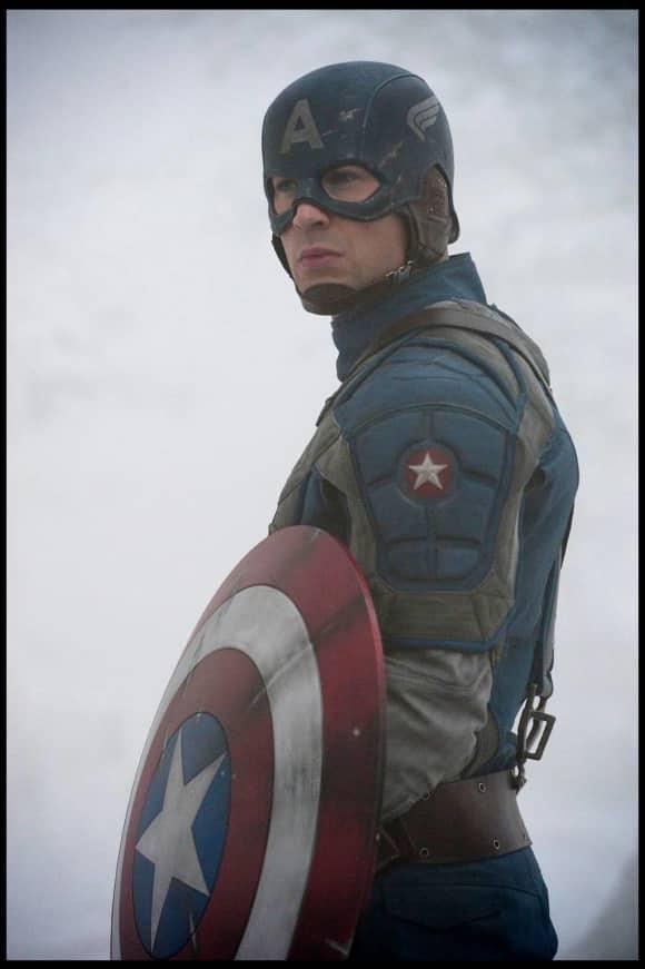 Chris Evans als Captain America in The First Avenger