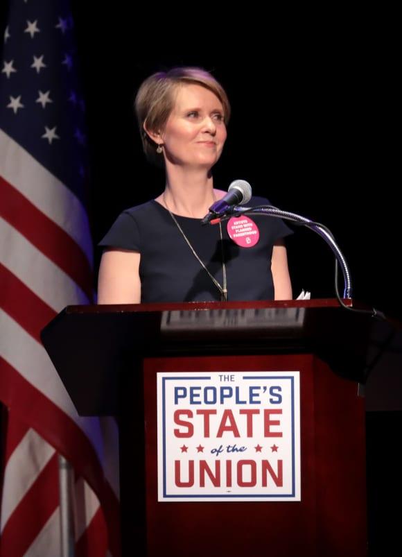 Cynthia Nixon in 2018