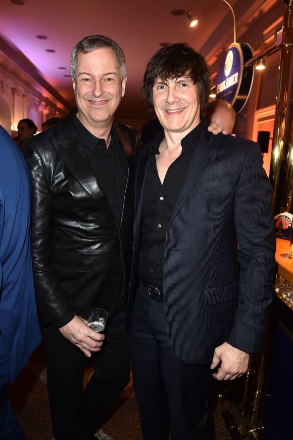 Thomas Hermanns mit seinem Mann Wolfgang Macht bei der  Nacht der Süddeutschen Zeitung 2019