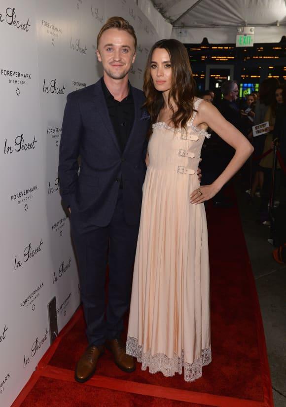 Tom Felton und Jade Gordon