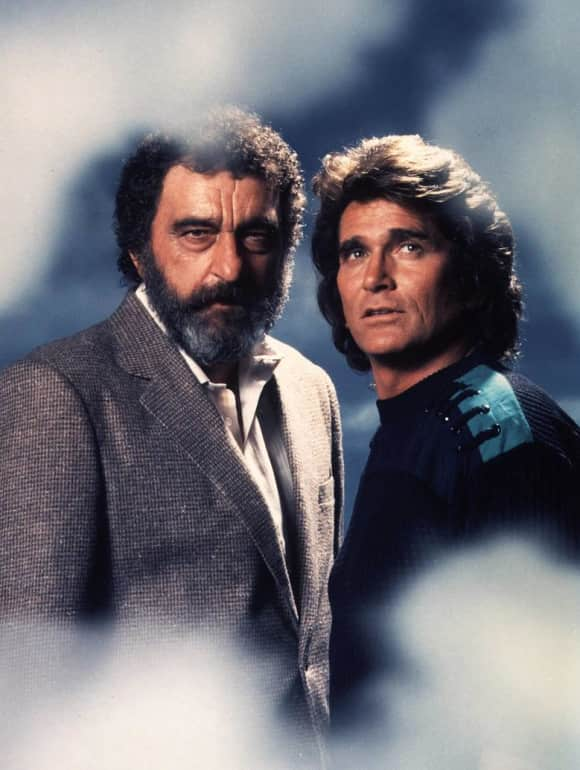 "Victor French and Michael Landon played ""Mark Gordon"" and ""Jonathan Smith"""