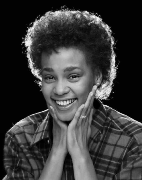 Whitney Houston im Jahr 1982