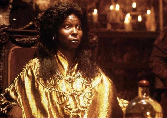 """Whoopi Goldberg starred in Ghost as """"Oda Mae Brown"""""""