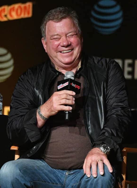 """William Shatner's most famous role is still that of """"Captain James T. Kirk"""" in Star Trek."""